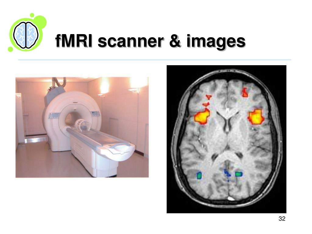 fMRI scanner & images