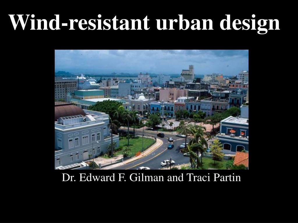 Dr. Edward F. Gilman and Traci Partin