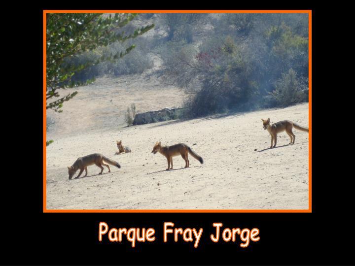 Parque Fray Jorge