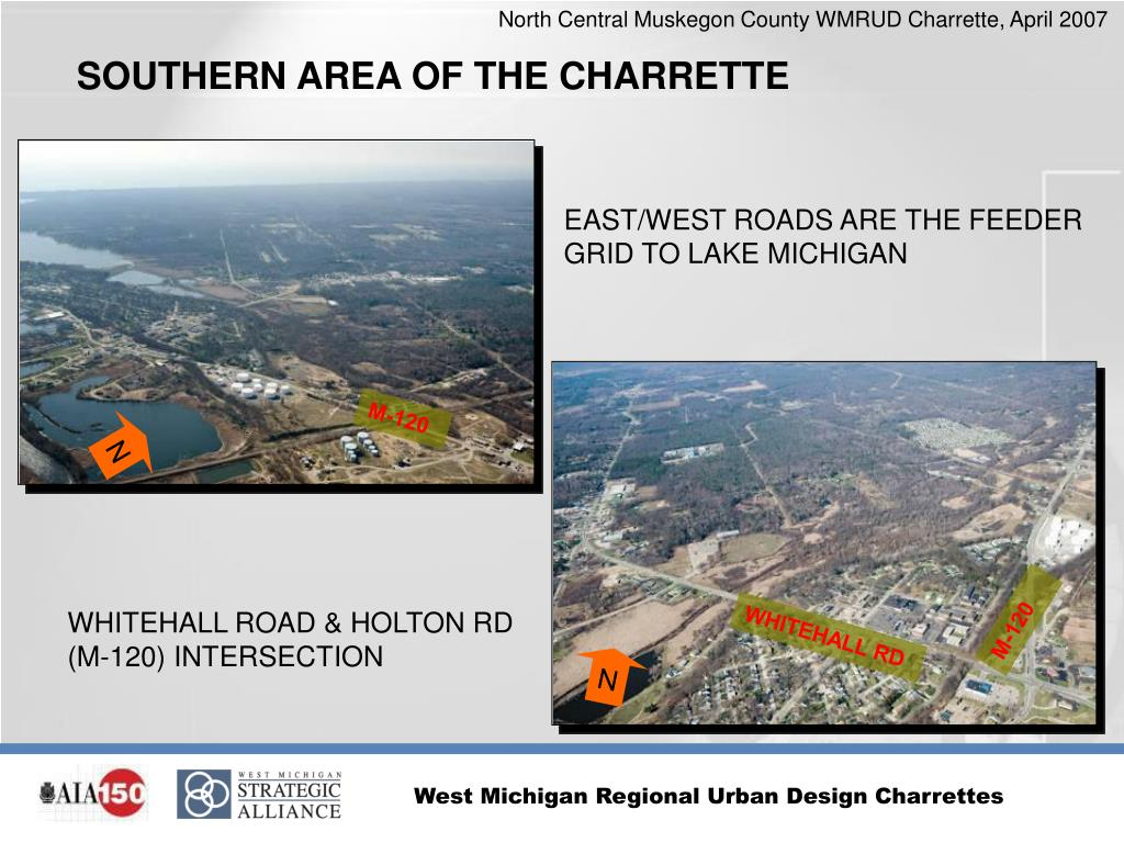 SOUTHERN AREA OF THE CHARRETTE