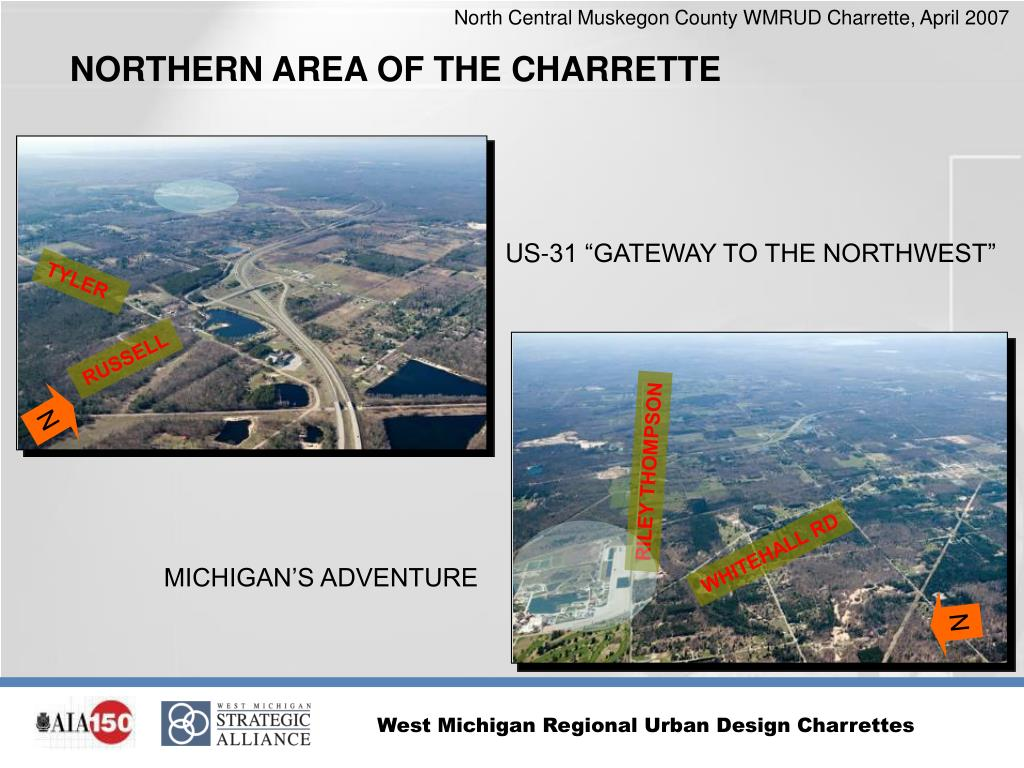NORTHERN AREA OF THE CHARRETTE