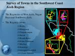 survey of towns in the southwest coast aceh region13