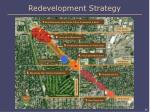 redevelopment strategy