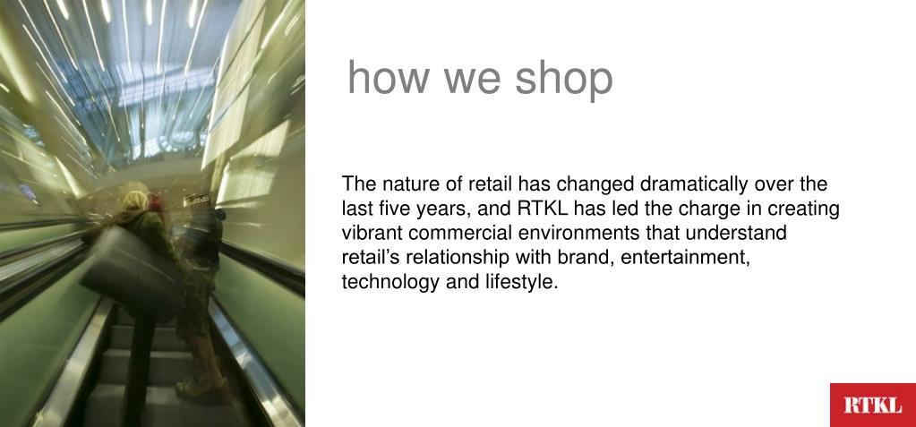 how we shop