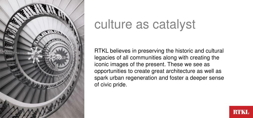 culture as catalyst