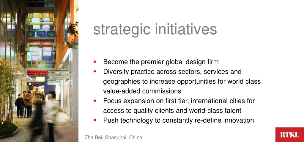strategic initiatives