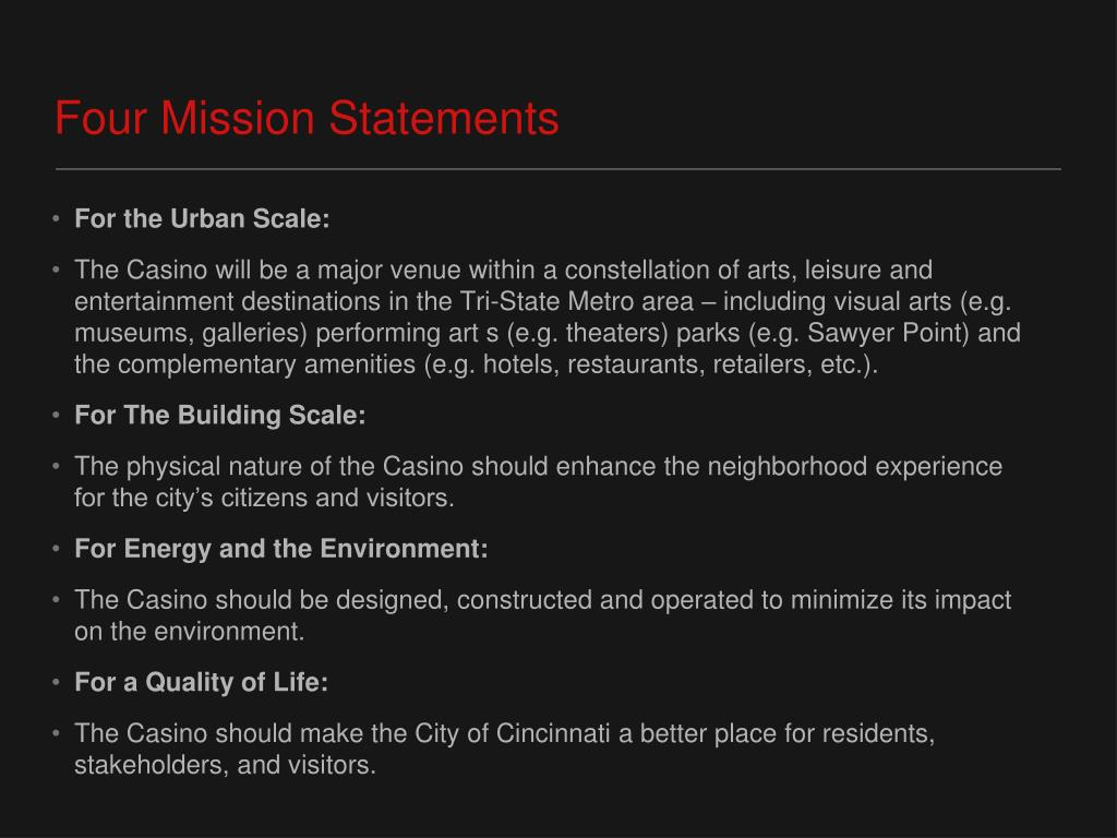Four Mission Statements