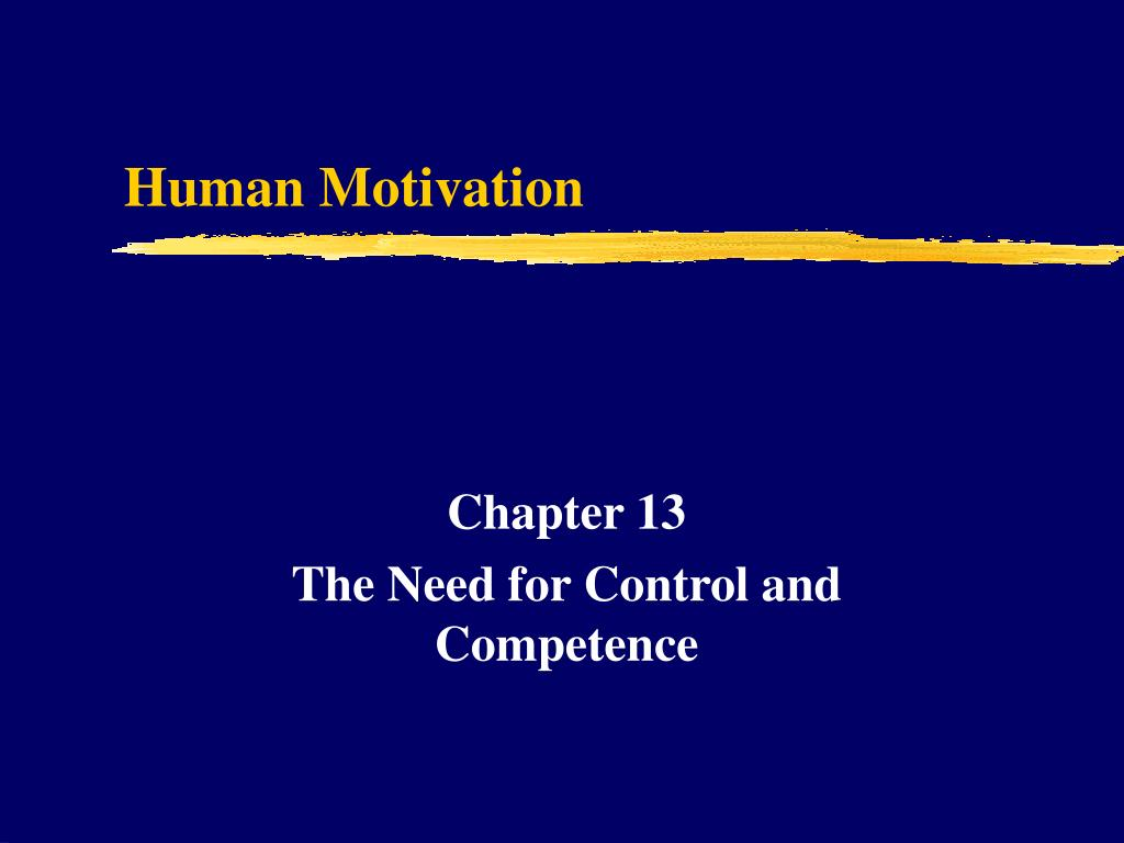 human motivation l.