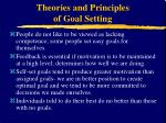 theories and principles of goal setting16
