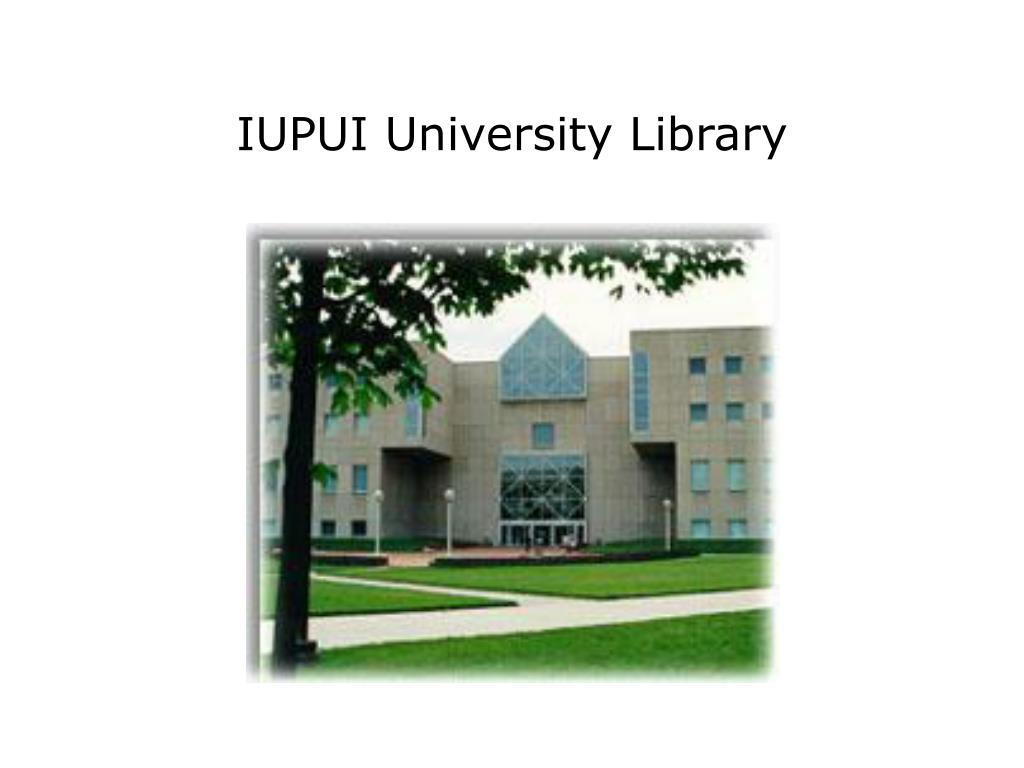 IUPUI University Library