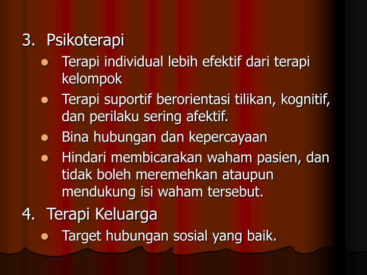 3.Psikoterapi