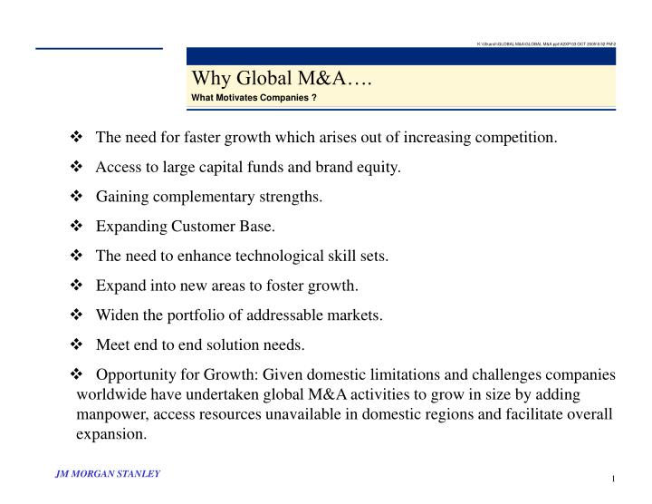 K:\Utkarsh\GLOBAL M&A\GLOBAL M&A.ppt\A2XP\03 OCT 2005\6:52 PM\2