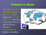 grid resource co allocation