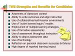 tws strengths and benefits for candidates
