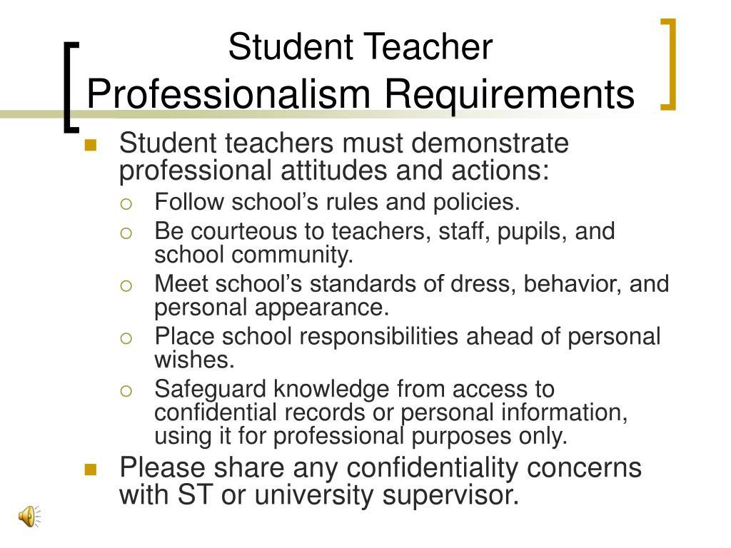 Student Teacher