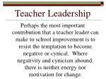 teacher leadership13