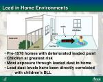 lead in home environments