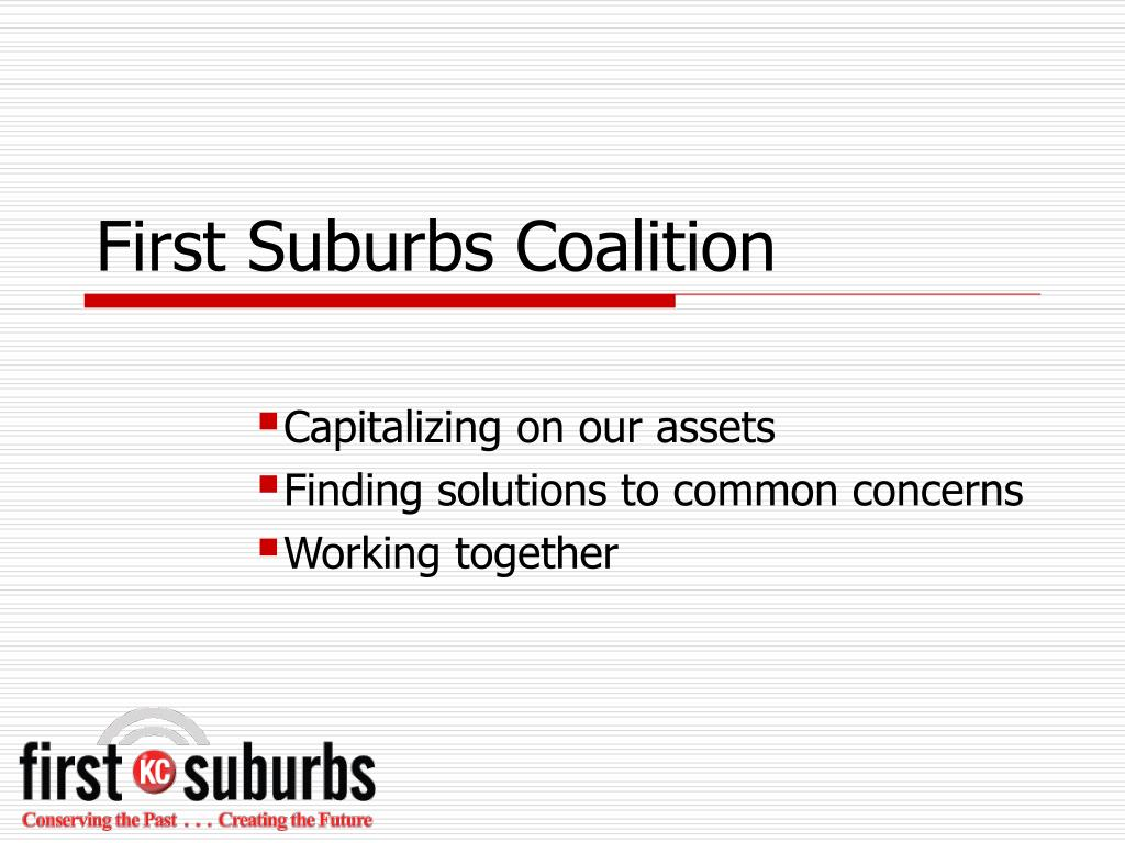 first suburbs coalition l.