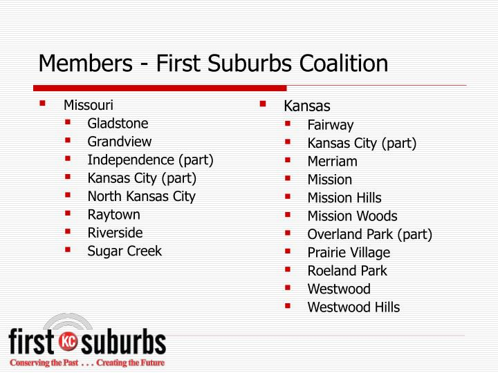 Members first suburbs coalition