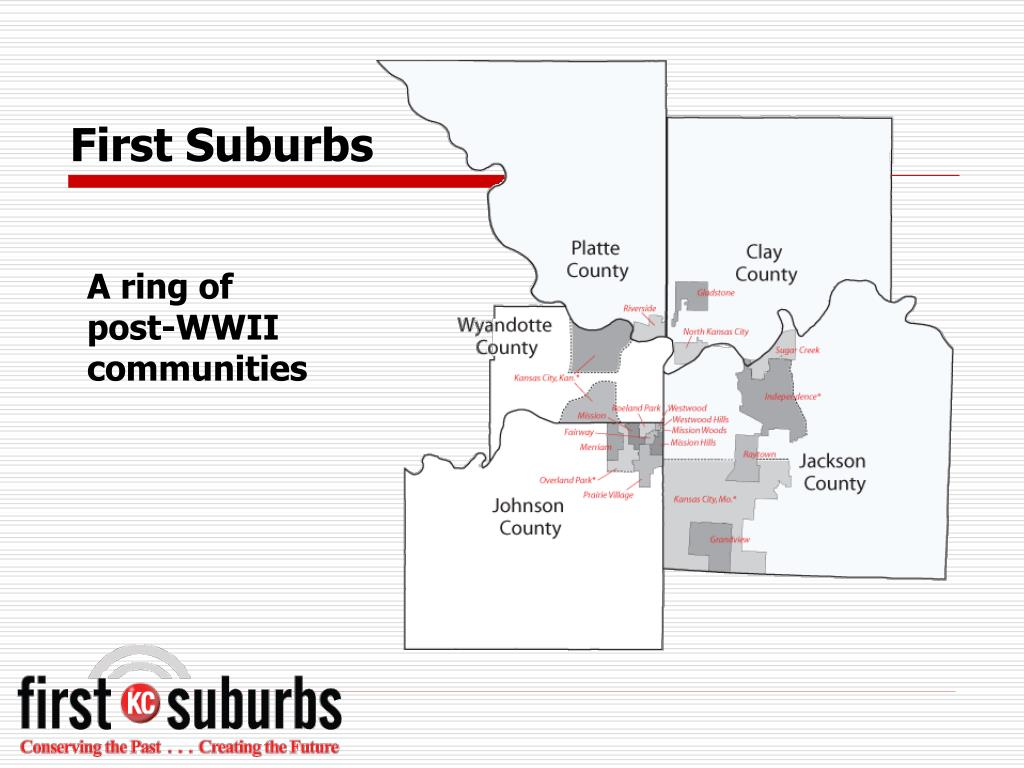 First Suburbs
