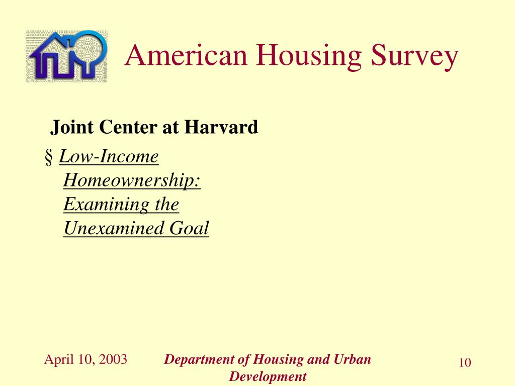 Joint Center at Harvard