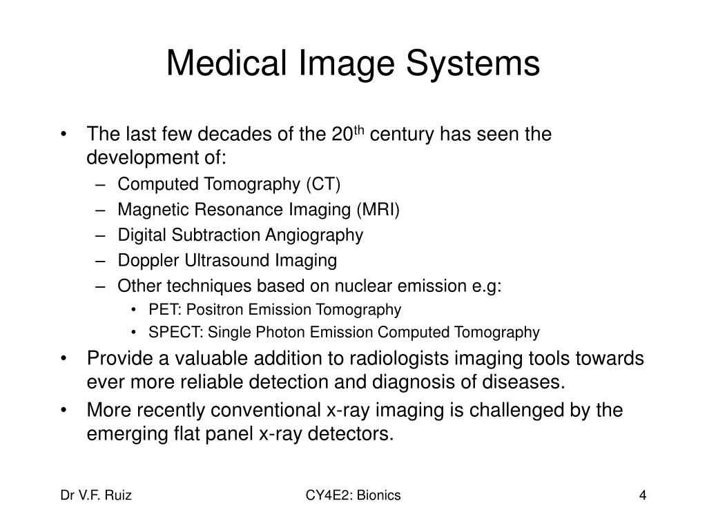 Medical Image Systems