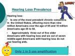 hearing loss prevalence