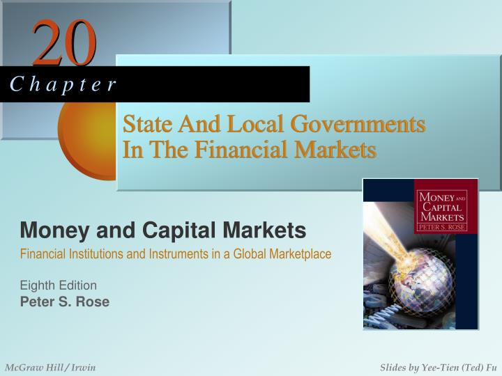 state and local governments in the financial markets n.