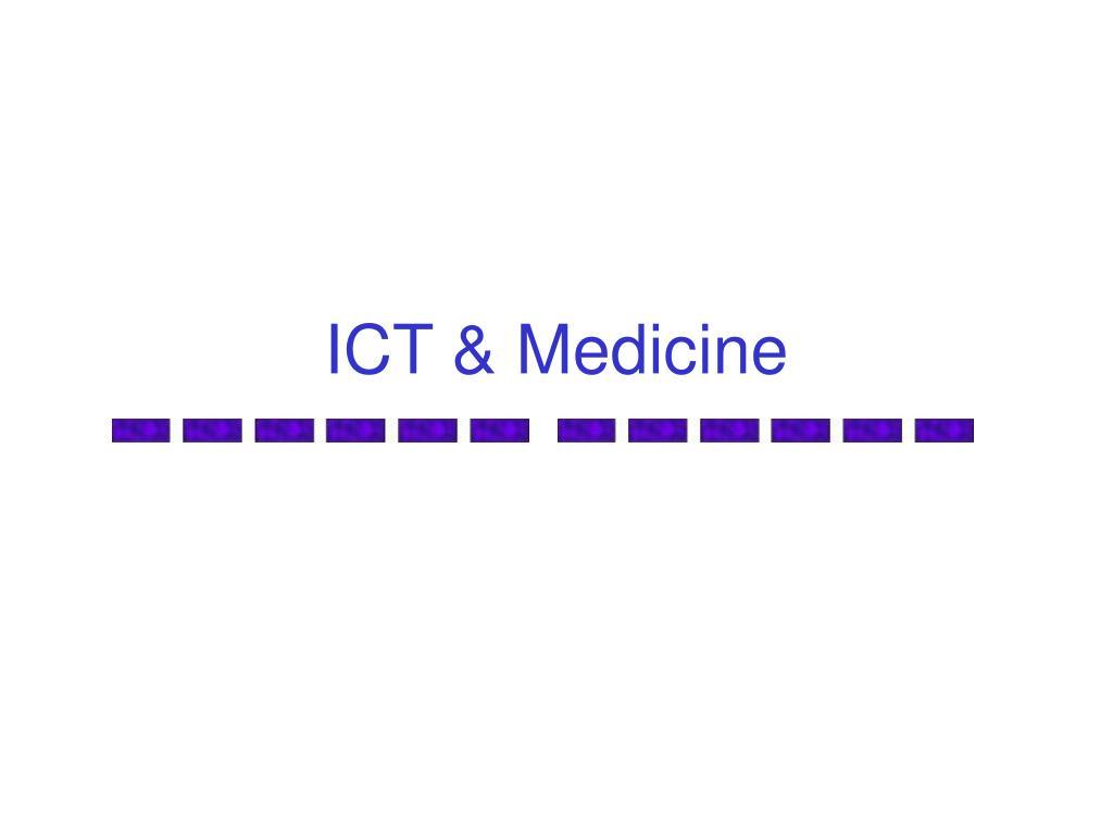 ict medicine l.