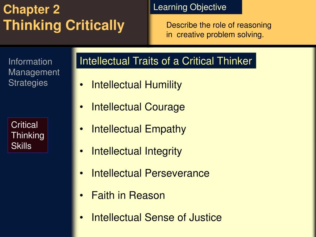 Describe the role of reasoning in  creative problem solving.