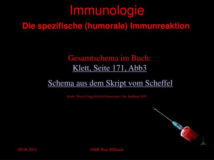 PPT - Immunologie PowerPoint Presentation - ID:921568