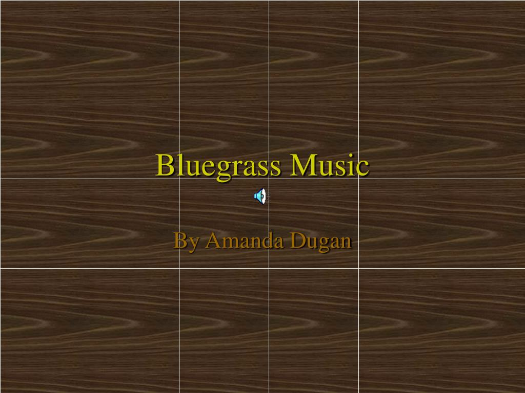 bluegrass music l.
