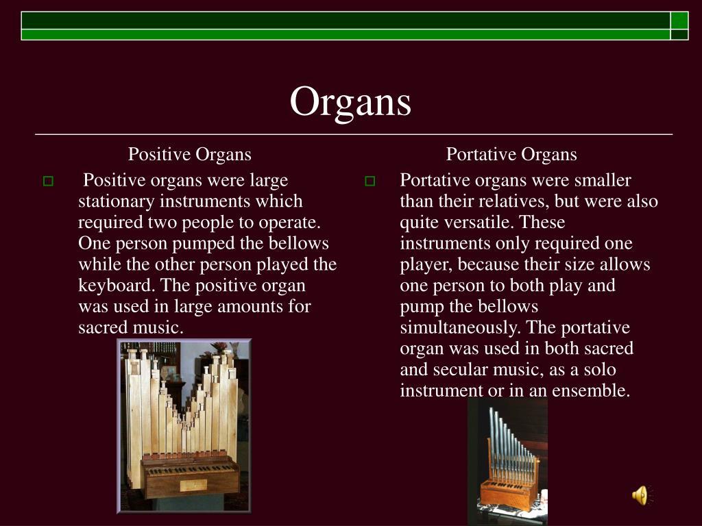 Positive Organs