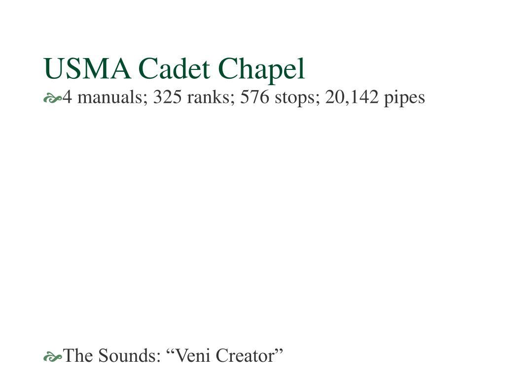 USMA Cadet Chapel