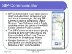 sip communicator
