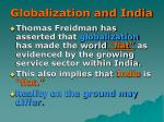 globalization and india