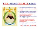 i am proud to be a parsi