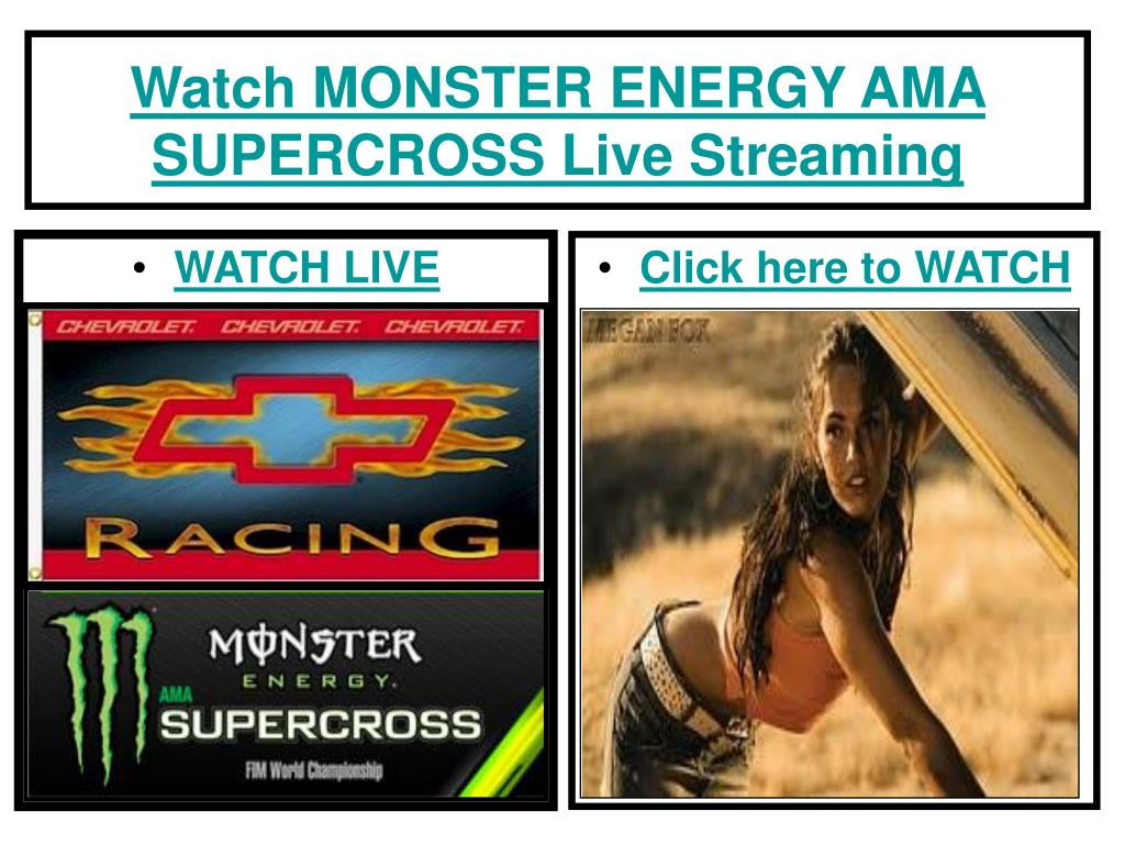 watch monster energy ama supercross live streaming l.
