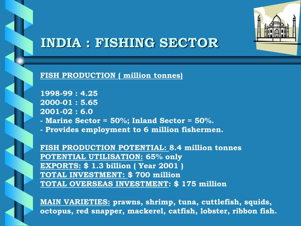 INDIA : FISHING SECTOR