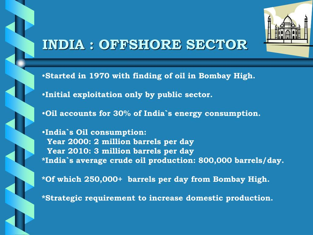 INDIA : OFFSHORE SECTOR