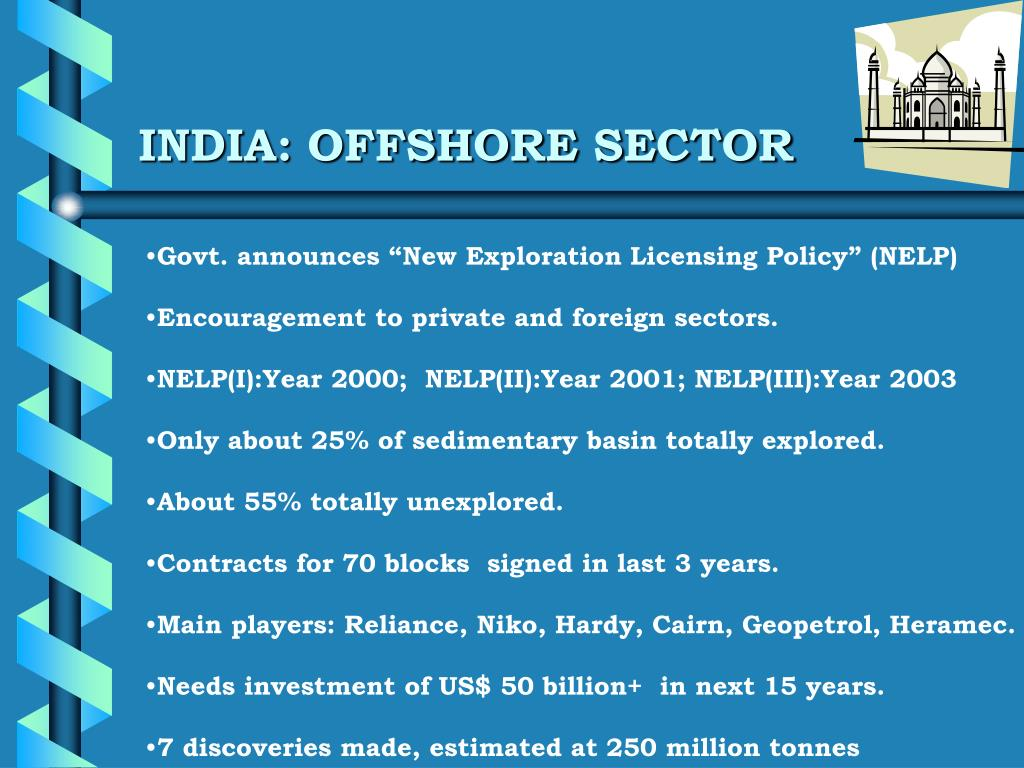 INDIA: OFFSHORE SECTOR