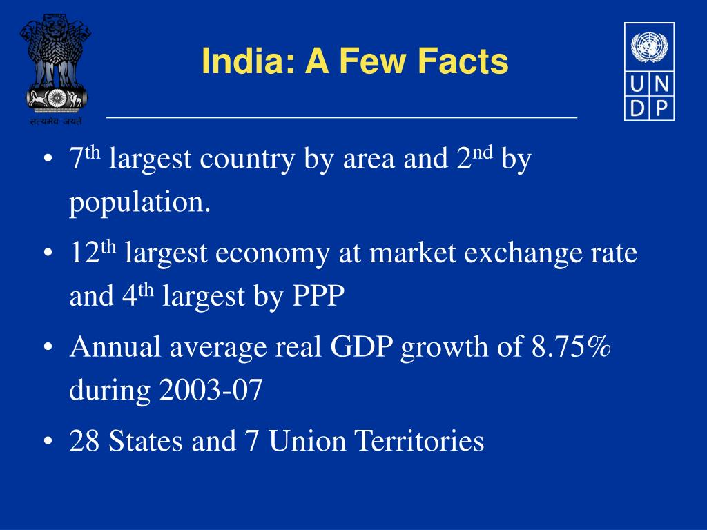 India: A Few Facts