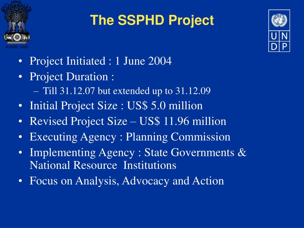 Project Initiated : 1 June 2004