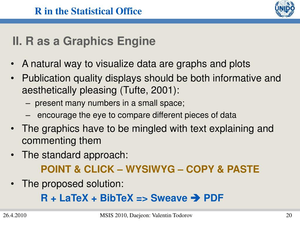 II. R as a Graphics Engine