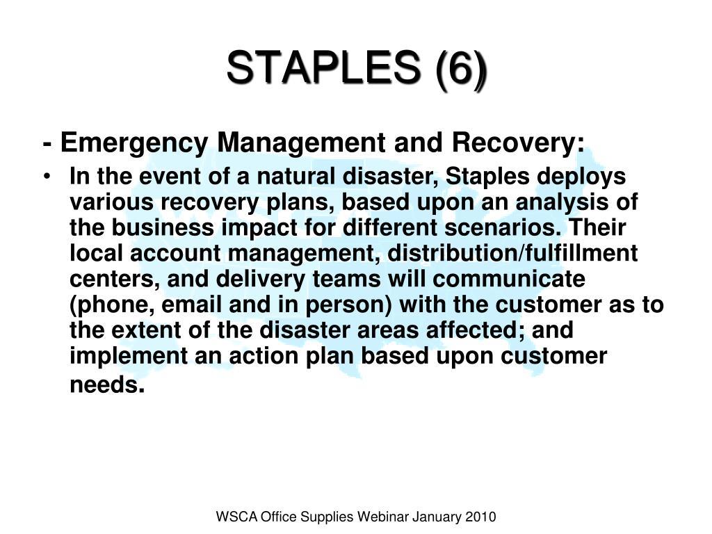 STAPLES (6)