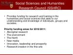 social sciences and humanities research council sshrc