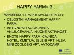 happy farm 3