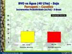 bvo vs gua 40 l ha soja ferrugem curativo incrementos produtividade sc ha 3 reas