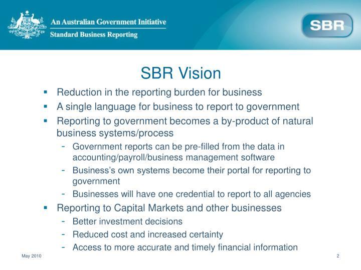 Sbr vision