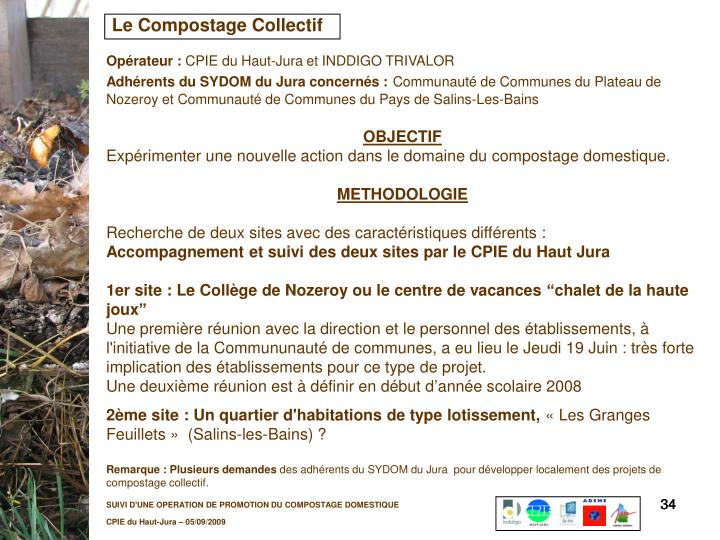 Le Compostage Collectif